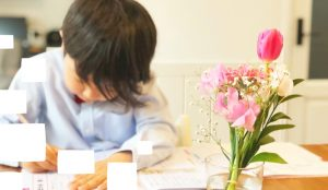 定期テスト対策もばっちり!自習室を解放しており受講日以外にも徹底したテスト対策